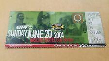 Nascar Nextel Cup Series ISC Chevy MIS June 20 2004 Ticket Stub