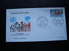 COTE D IVOIRE  - enveloppe 1er jour 28/9/1968 (cy75)