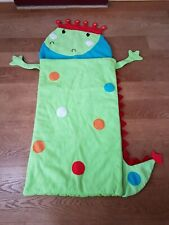 Kids Fleece Sleeping Bag Dinosaur Theme