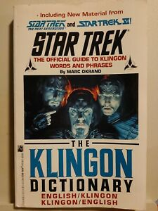 Star Trek The Official Guide to Klingon Words & Phrases The Klingon Dictionary