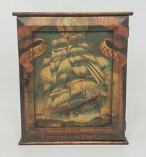 Hanging Cabinet Hindged Magnetic Closure East Indian Shipping Co. 1600-1858