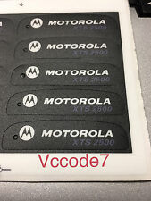 Motorola XTS2500 Front Name Plate Label