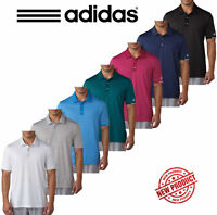 Adidas Golf Climachill Tonal Stripe Mens Performance Golf Polo Shirt