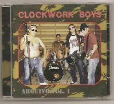 Clockwork Boys CD Hooligan Oi Streetrock Portugal Albert Fish Streetpunk Punk
