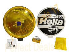 Hella Comet 500 12v H3 Yellow Driving Lamp - Jeep,Truck, 4x4, Suv, Van, Car
