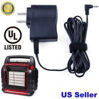 6V AC Power Adapter for Mr. Heater Big Buddy Propane Heater F276127 Charger Cord