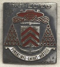 1943 BB-15 Richelieu Battleship Badge/Insigne Richelieu Fabriqué aux États-Unis
