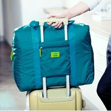 Foldable luggage travel bag waterproof duffle carry on luggage travel bag