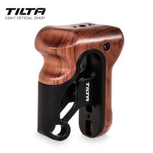 Tilta Left Side Wooden Handle Universal NATO Rail Grip For DSLR Camera Cage Rig