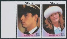 NEVIS 1986 wedding of Prince Andrew and Sarah Ferguson VARIETIES MISSING VALUES