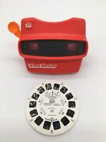 Vintage Viewmaster 3D Viewer Tyco Toys Orange Handle with Toy Story Reel 4166