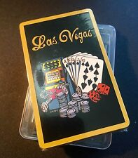 Vintage~New Sealed~ LAS VEGAS Deck of Playing Cards~Gambling, Tokens, Chips,Dice