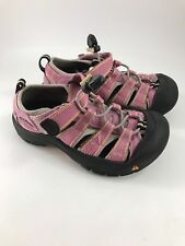 CHILD'S PINK & BLACK KEEN SPORTS SANDALS