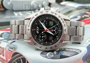 Porsche 911 Quartz Chronograph Gents Vintage Bracelet Watch c1980's-Very Rare!