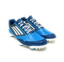 New listing Adidas Adizero One Men's Size 13 Golf Shoes Blue White Cleats Q46944 Lace Up