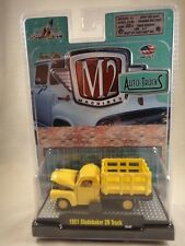 M2 Machines Auto-Trucks 1951 Studebaker 2R Truck Yellow Release 21 NEW 1:64