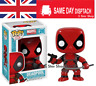 Deadpool Booble Head Action Figure + Box  No 130 - Cheapest in UK
