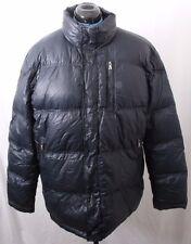 Cole Haan Navy Blue Full Zip Snap Winter Down Puffer Jacket Coat Men's XL