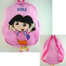 Dora the Explorer Boots School Bag Pink Plush Shoulders Bag Backpack Bag + CHARM