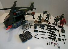 Soldier Force Deluxe Combat Helicopter & Soldier Action Figures Play Set & +More