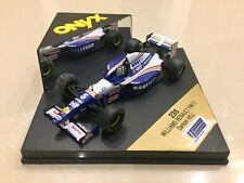 ONYX 1/43 SCALE DAMON HILL, WILLIAMS RENAULT FW17 1995 F1 CAR, MODEL NO 235