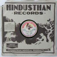 Mr K L Saigal Hindi Songs 78 Rpm Gramophone Record Rare Bollywood H 459 India NM