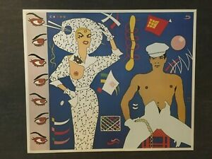 Duggie Fields - Acquired Mannerisms - Cartoon - 1973 - Offset Poster