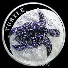 New Zealand 2014 Turtle Silver .999 1oz Coin (UNC)
