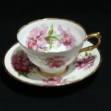 Vintage Signed Grosvenor England, 1930's Bone China Teacup & Saucer