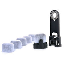 6x Replacement Charcoal Water Filter for Keurig Coffee Machine Tool Cleaner set