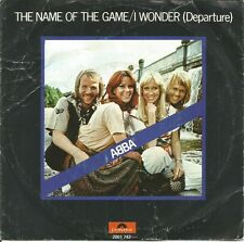 ABBA-THE NAME OF THE GAME + I WONDER (DEPARTURE) SINGLE 7 VINYL 1977 HOLLAND