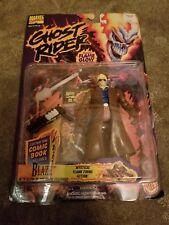 ToyBiz Marvel Comics Ghost Rider BLAZE Action Figure New in Package w Comic