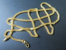 Real Solid 18k Yellow Gold Chain Women Men Luck Wheat Link Necklace About 4.5g