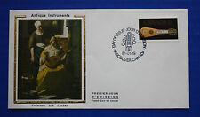 """Canada (878) 1981 18th Century Mandora Colorano """"Silk"""" FDC"""