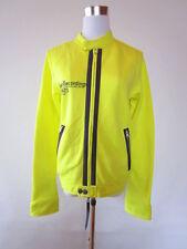 ZU ELEMENTS Designer Womens Yellow Casual Half Season Zipped Jacket sz L AT99