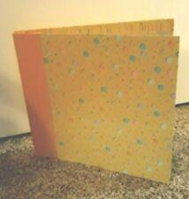 ".Set of 2 Melon Celebrations 12""x12"" Scrapbooks Albums .Save Those Memories"