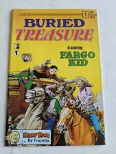 Buried Treasure #1 April 1990 Caliber Press Comics