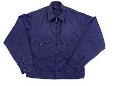Vintage 1960s Navy Work Uniform Jacket