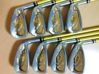 HONMA Golf Schläger Eisenset BERES IS-05 #5-11,Aw Herren 3S ☆☆☆ FLEX:R