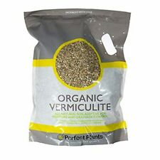 Organic Vermiculite by Perfect Plants - 8 Dry Quarts Natural Soil Additive for P