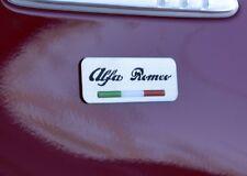 PLAQUE ALFA ROMEO GIULIETTA 147 MITO 159 SPIDER BRERA GIULIA GTV 166 4C 8C QV
