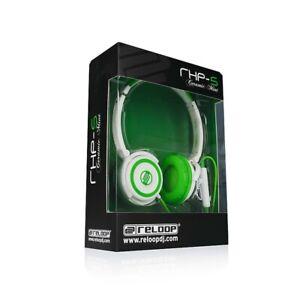 Reloop RHP-5 Ceramic Mint Headband Headphones With Phone Microphone