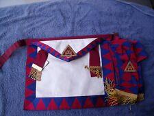 More details for lambskin royal arch principal  apron & sash
