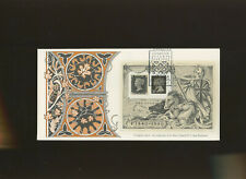1990 Penny Black Min Sheet Etchingham Stamp Festival Official FDC. Cat £35