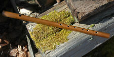 FIfe Flute  -One-piece - Teak Wood - Key of A Major - 2 Octaves