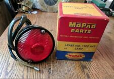 1954 1955 DODGE TRUCK NEW OLD STOCK TAIL LIGHT ASSEMBLY WITH WIRE MOPAR 54, 55