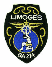 ECUSSON MILITAIRE MILITARIA BRODÉ EMBROIDERED PATCH BASE AERIENNE 274 LIMOGES