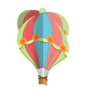 Up, Up & Away Hot Air Balloon Baby Shower Birthday Party Hanging Decoration