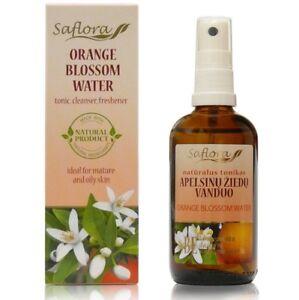 Organic Orange Blossom Floral Water (Hydrosol) - Neroli Water - 100 ml / 3.4 oz