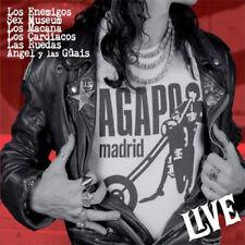 V/A Agapo Live LP . los enemigos sex museum macana cardiacos ruedas angel guays